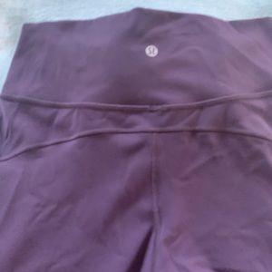 lululemon athletica Pants - Lululemon pants size 10 plum color